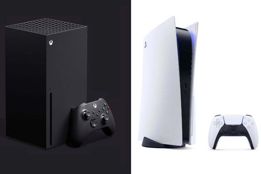 """PS5 vs Xbox Series X"""