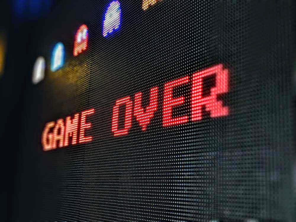 """""""game over"""""""