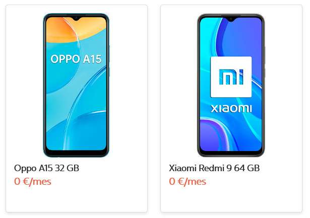 """smartphones 0€ movistar"""
