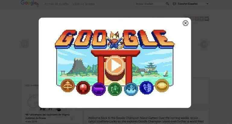 """""""juegos google"""""""